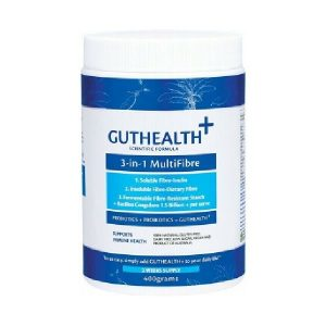guthealth multifibre probiotic powder container